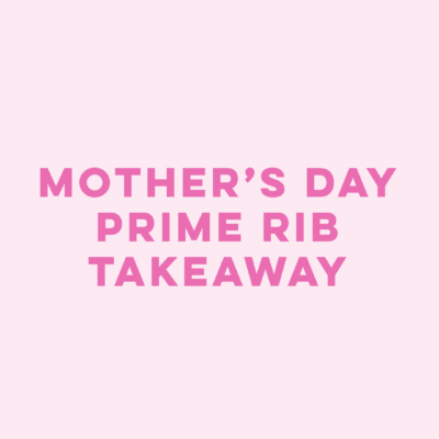 Product title Mother's Day Prime Rib Takeaway