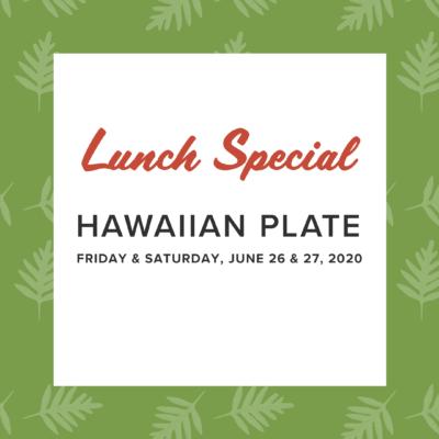 Click to order Hawaiian Plate